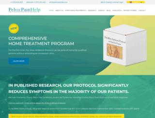 pelvicpainhelp.com screenshot