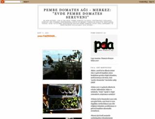 pembedomates.blogspot.com.tr screenshot