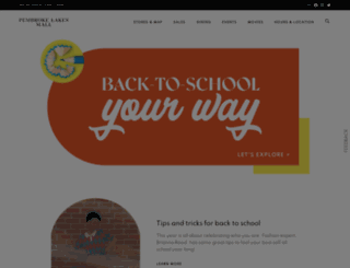 pembrokelakesmall.com screenshot