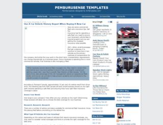 pemburusense.blogspot.com screenshot