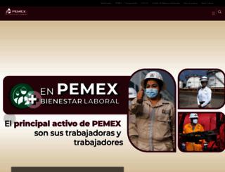 pemex.com screenshot