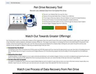 pen-drive-recovery-tool.datarecovery2012.com screenshot