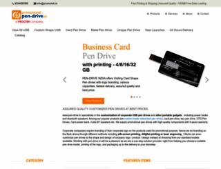 pen-drive.in screenshot