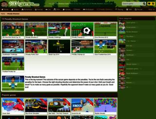 penalty-shootout.gamesxl.com screenshot
