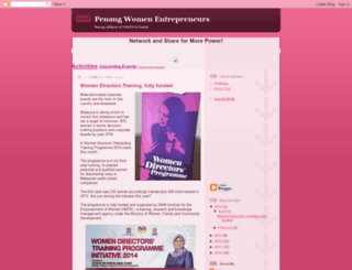 penangwomenentrepreneurs.blogspot.com screenshot