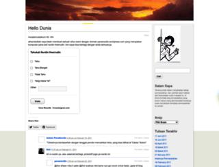 penanurdin.wordpress.com screenshot