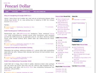 pencaridollar.blogspot.com screenshot