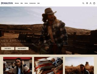 pendleton-usa.com screenshot