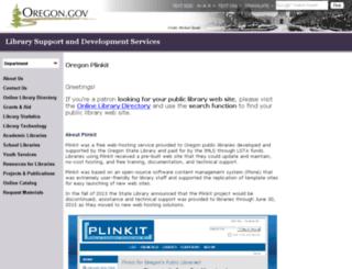 pendleton.plinkit.org screenshot