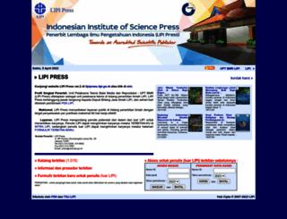 penerbit.lipi.go.id screenshot