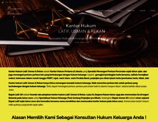 pengacaraperceraian.com screenshot