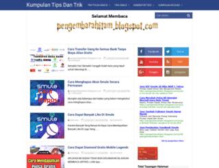 pengembarahitam.blogspot.co.id screenshot