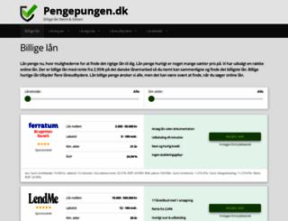 pengepungen.dk screenshot