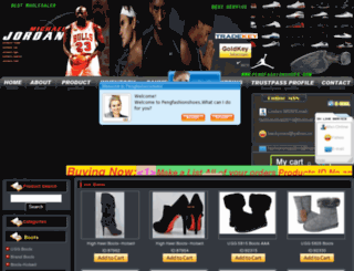 pengfashionshoes.com screenshot