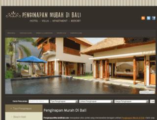 penginapanmurahdibali.com screenshot