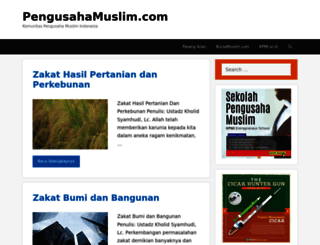 pengusahamuslim.com screenshot