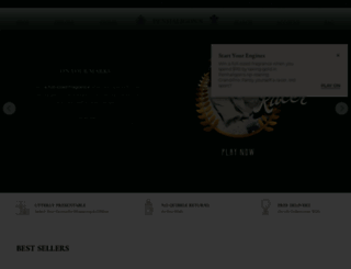 penhaligons.com screenshot