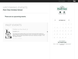 penn-view-christian-school.ticketleap.com screenshot