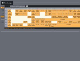 penndesign.calendarhost.com screenshot