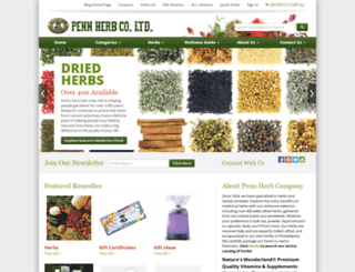 pennherb.com screenshot