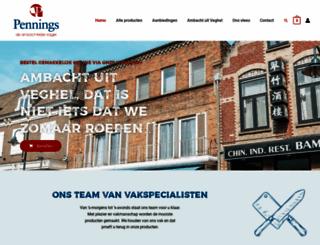 penningsbv.nl screenshot