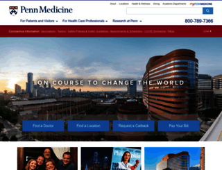pennmedicine.org screenshot