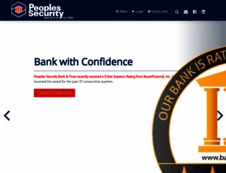pennsecurity.com screenshot
