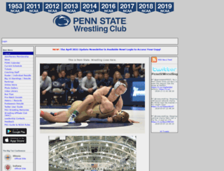 pennstatewrestlingclub.org screenshot