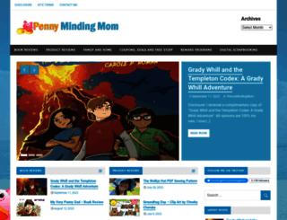 pennymindingmom.com screenshot