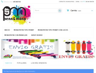 pennymonopatineslosmejoresprecios.com screenshot