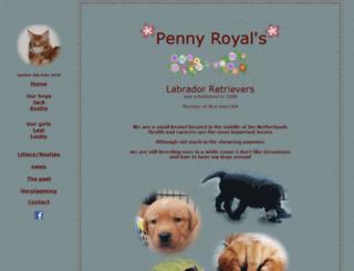pennyroyals.net screenshot