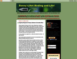 pennyshotbirdingandlife.blogspot.com screenshot
