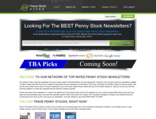 pennystocksites.com screenshot