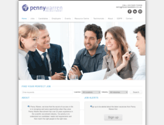 pennywarren.co.uk screenshot