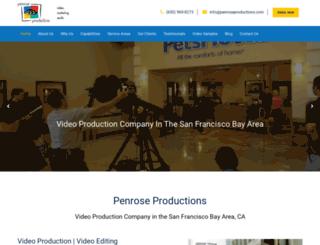 penroseproductions.com screenshot