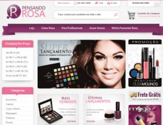 pensandorosa.com.br screenshot