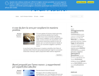 pensapositivo.net screenshot