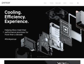 pensardevelopment.com screenshot