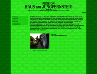 pension-haus-am-jungfernsteig.de screenshot