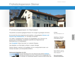 pension-steiner.co.at screenshot