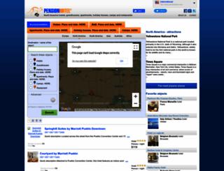pensionhotel.com screenshot