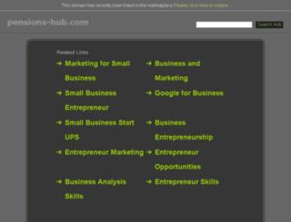 pensions-hub.com screenshot