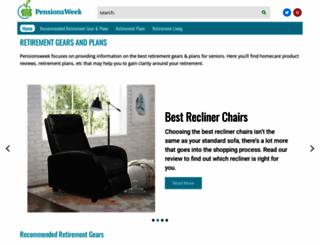 pensionsweek.com screenshot