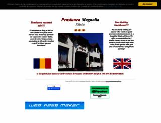 pensiuneamagnolia.ro screenshot