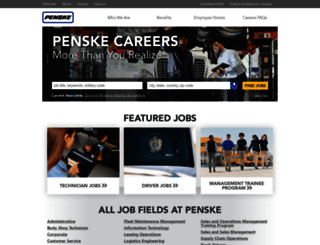 penske.jobs screenshot