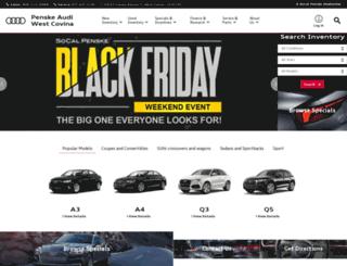 penskeaudi.com screenshot