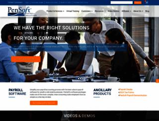 pensoft.com screenshot
