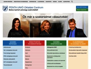 penta.hu screenshot