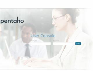 pentaho.hem.com screenshot