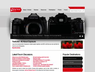 pentaxforums.com screenshot